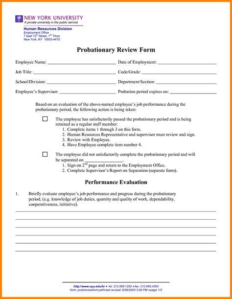 Employment Letter With Probationary Period Letter Of Employment Probationary Period