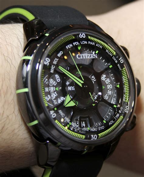 Citizen Eco Drive Satelite Wave citizen eco drive satellite wave on ablogtowatch