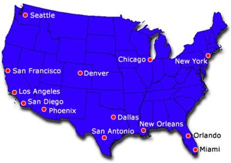 san francisco map of america united states usa tourist profile