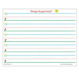 smart start writing paper grades k 1