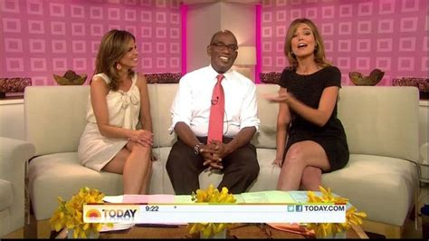 natalie morales thigh highs on today savannah guthrie and natalie morales sexy leg