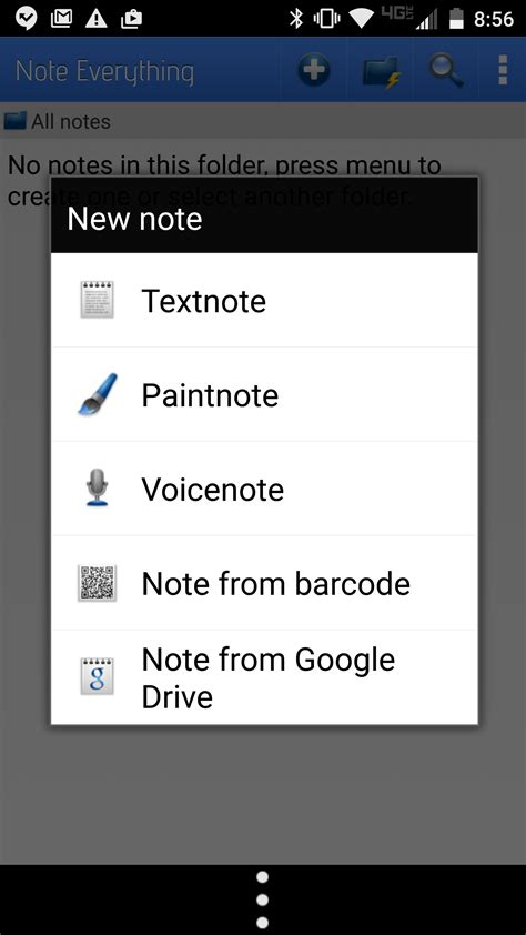 android notes screenshots five android note taking apps you never heard of techrepublic