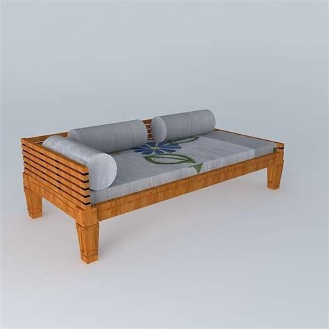 wooden sofa models wooden sofa 3d model max obj 3ds fbx stl dae