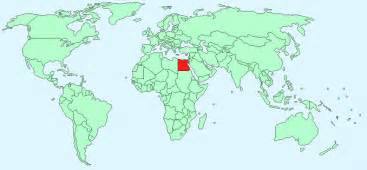Egypt On World Map by Egypt Facts And Figures