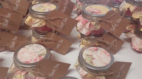 Handmade Bridal Shower Favors - bridal shower favors diy custom bridal shower favors