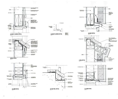 French Door Awning - joinery cross sections amp flashing details westpine joinery