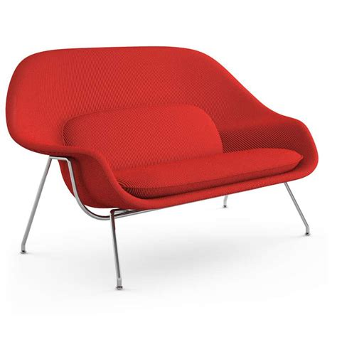 Womb Settee saarinen womb settee by knoll yliving