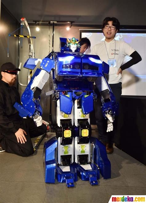 film robot jepang 90an foto canggihnya robot transformer j deite quarter buatan
