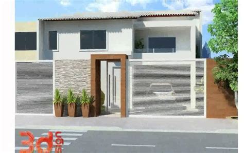 21 frentes de casas bonitas planos y fachadas todo