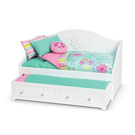 18 inch doll beds lipstick and sawdust trundle bed for american girl or 18