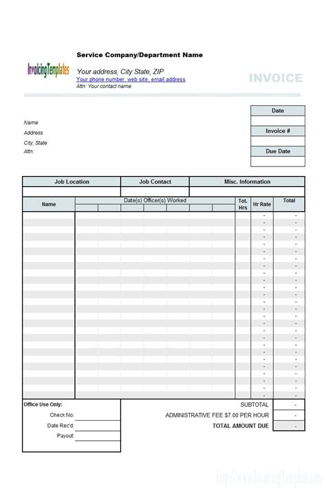 timesheet invoice template excel 10 timesheet invoice template