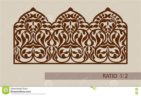 ornament template the template pattern for laser cutting decorative panel