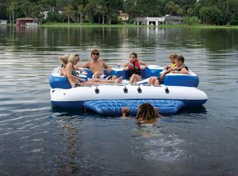 sea doo boats uae sea doo 8 person inflatable mega island lake float w 4