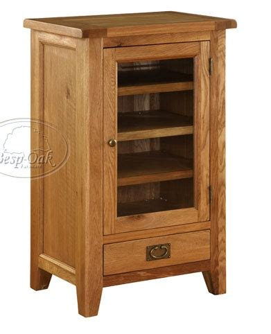 Wooden Hifi Cabinet by Vancouver Oak Hi Fi Cabinet Oak Furniture Solutions