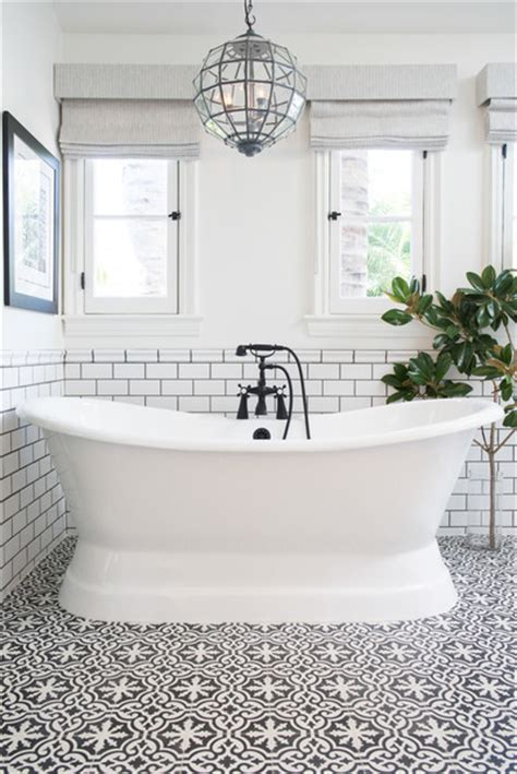 patterned tile bathroom patterned tile trend the honeycomb home