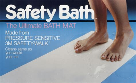 Bathtub Safety Mat by Safety Bath Helps Prevent Slip And Fall In Bathrooms From