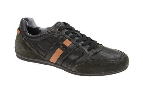 Geox Sneakers geox houston a sneakers in schwarz herrenschuhe shop