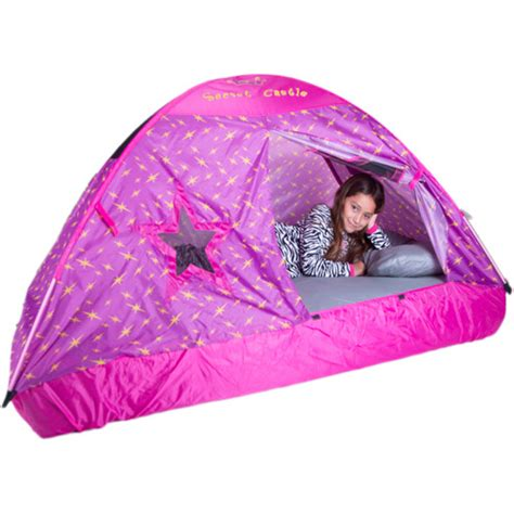kid bed tent secret castel bed tent twin walmart com