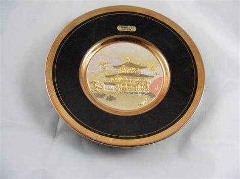 Plat Bunga Emas Gold chokin plate ebay