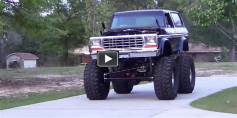High Prifile Set Jeep Bronco Ford 1979 ford bronco is going to be mad wheelie