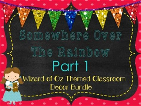 wizard of oz bedroom decor wizard of oz themed room decor part 1 by suzie q s classroom tpt