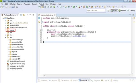 tutorial android project eclipse creating project using eclipse with adt zebra