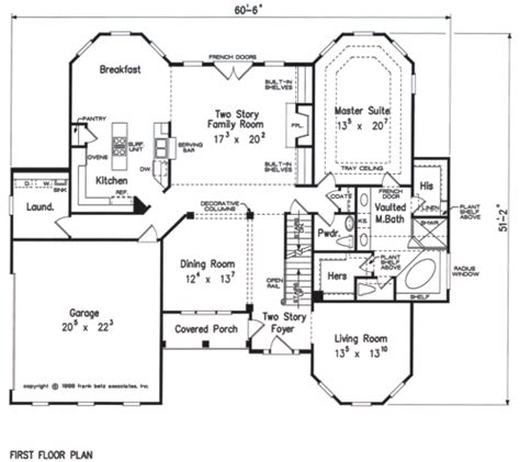 House Plans Kitchen In Front by The Joys Of Building House Plan