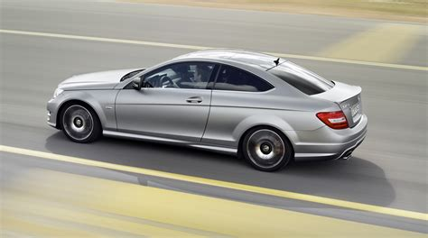 mercedes sport mercedes c250 coupe sport adds amg visuals and