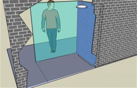 afschot inloopdouche in beton lewis vloer