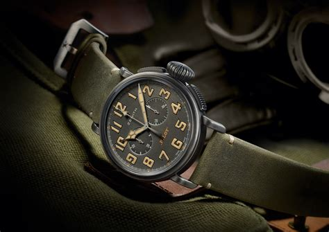 Swiss Clone 11 Replika Pilot Cafe Racer Heritage Stainless Steel zenith swiss luxury watches manufacture since 1865