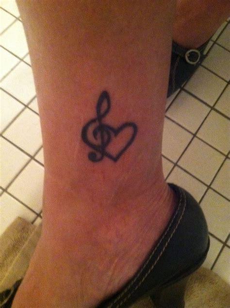 treble clef heart tattoo 53 best treble clef images on ideas