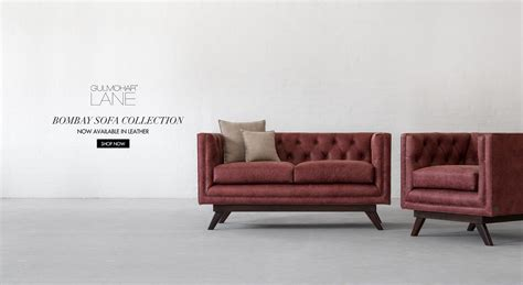 bombay sofa handcrafted living room furniture in india gulmohar lane