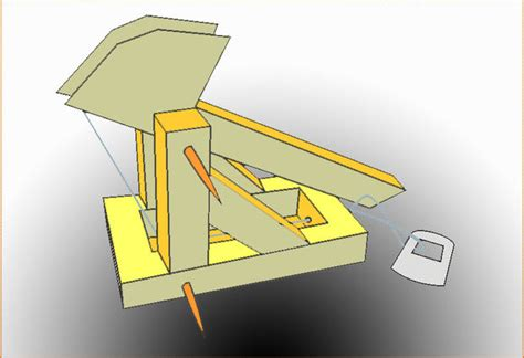 How To Make A Catapult Out Of Paper - the paper trebuchet