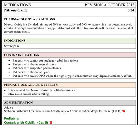 pharmacology card template nitrous oxide administration card pharmacology