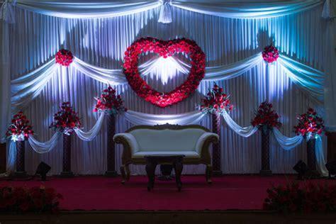 Western Wedding Reception Stage Decoration