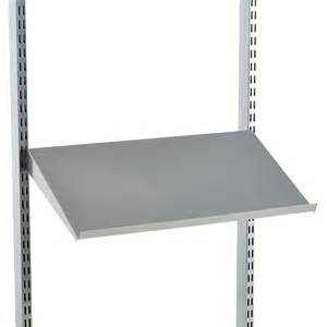 Kitchen Design Planner Tool by Platinum Elfa Angled Solid Metal Shelves The Container Store