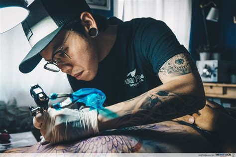 tattoo stigma singapore 10 singaporeans in unconventional jobs we envy because