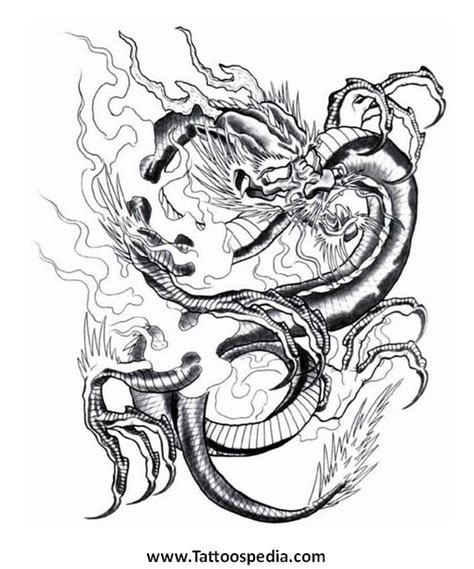 dragon tattoo represents dragon tattoo symbolism 4