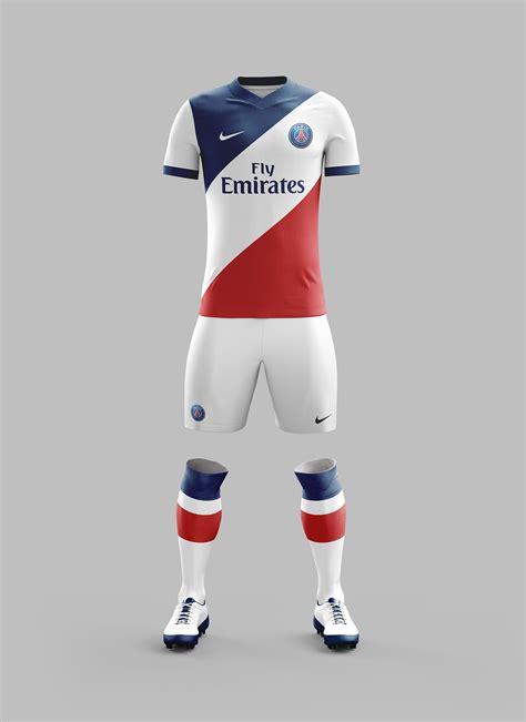Jersey Germain Home Season 2017 2018 psg away kit concept 2017 2018 season on behance