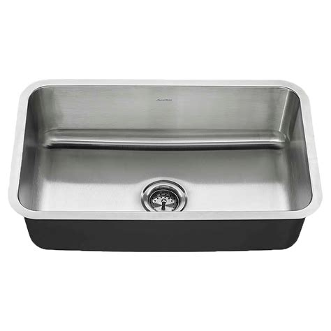 Standard Kitchen Sink by American Standard Undermount 30x18 Stainless Steel Sink