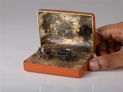 vintage ring boxes turned into detailed historical