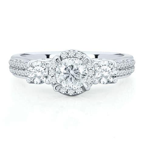 helzberg diamonds style 1742910 white gold engagement