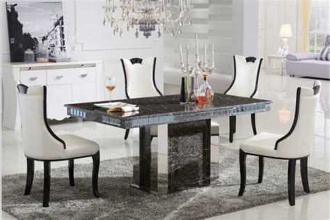 luxurious marble tables