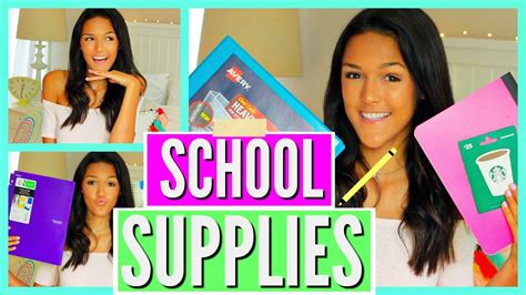 Back To School Supplies Giveaway 2017 - back to school supplies haul giveaway 2016 2017 youtube