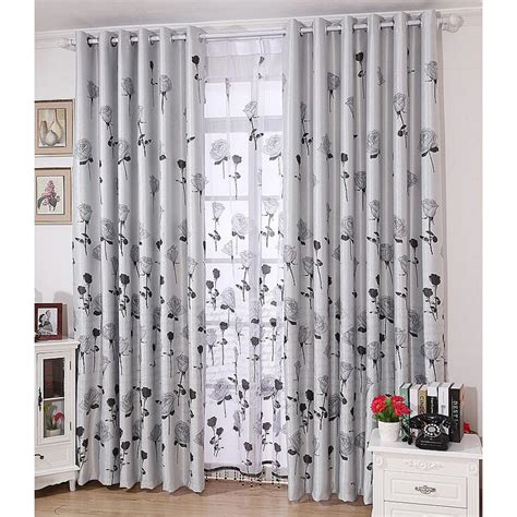 classic rose gray luxury curtains blackout modern curtains