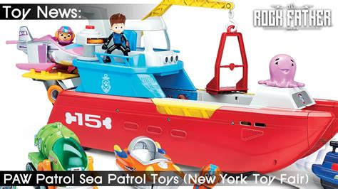sea patrol boat tfny toy fair first look paw patrol sea patrol 2017