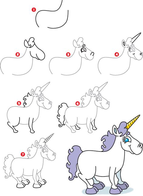 how to draw an i how to draw a unicorn kid scoop