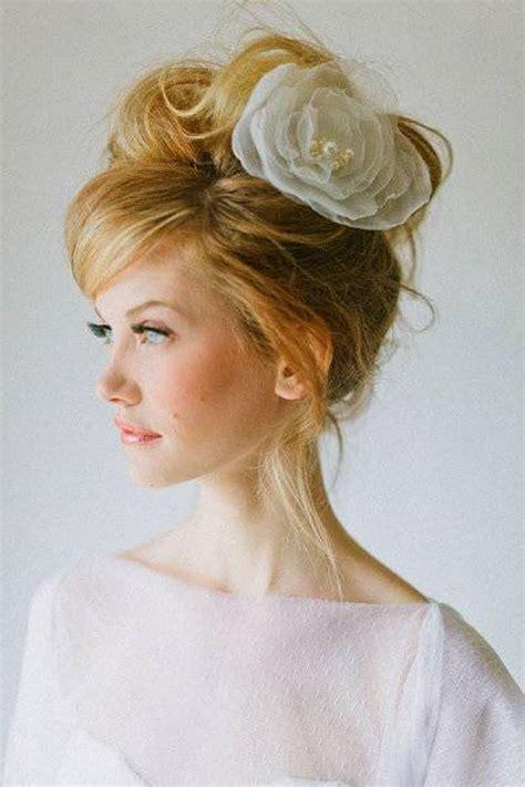bridal hairstyles messy bun messy bun summer hair styles for wedding hair style