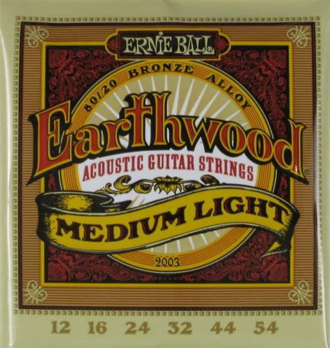 ernie ball earthwood light ernie ball acoustic guitar earthwood medium light 012