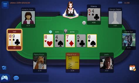 poker texas ita il texas holdem poker  lingua italiana  multiplayer  gratis